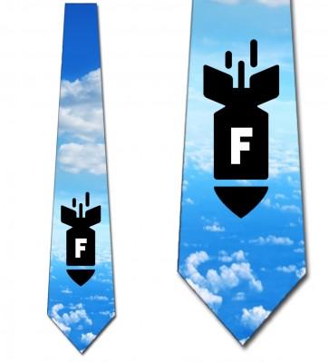 F-Bomb - Colored Sky Necktie