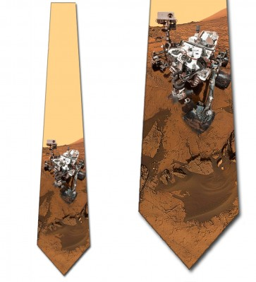 Mars Rover Necktie