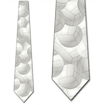 Volleyballs Allover Necktie