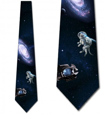 Space Cat Necktie