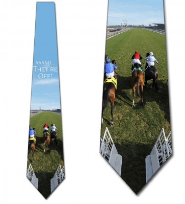 And They're Off! Necktie