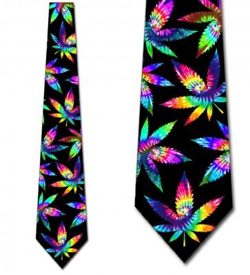 Psychedelic Plants Necktie