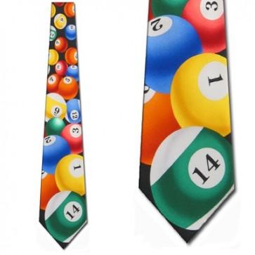 Pool Balls Necktie