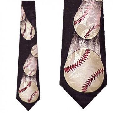 Baseball in motion Necktie