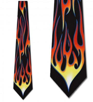 Hot Rod Flame Necktie