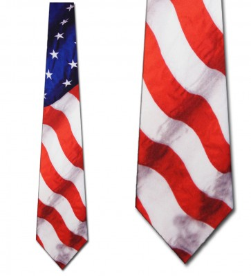 Stars and Stripes Necktie