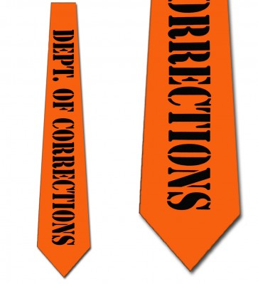Department of Corrections Necktie