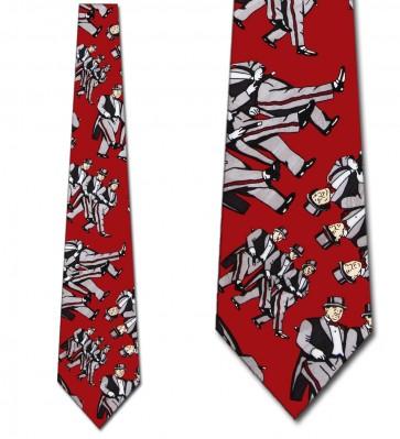 Three Stooges Tuxedo Necktie