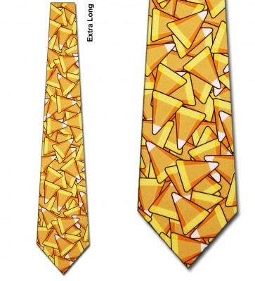 Candy Corn Extra Long Necktie