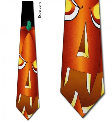 The Great Pumpkin Extra Long Necktie
