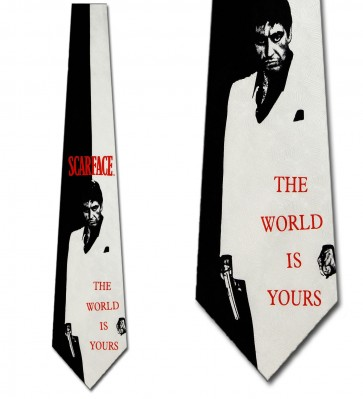 Scarface -The World is Yours Necktie