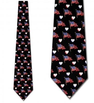 I Love America Necktie