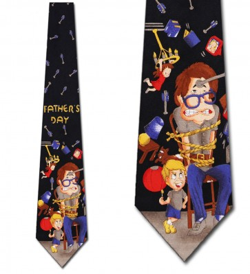 Fathers Day - The Kids Reign Necktie
