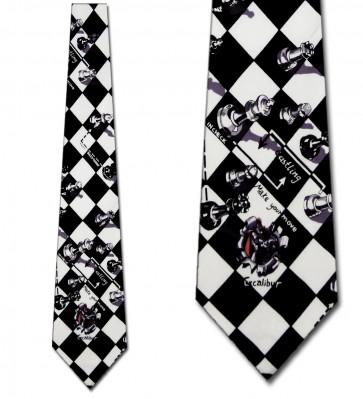 Chess Moves Necktie