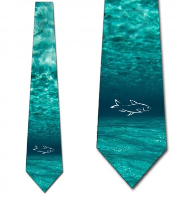 Fish in the Ocean Necktie