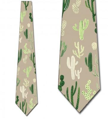 Cactus Print Allover Necktie