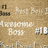 Number One Boss - Tan