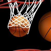 Basketball and Hoops - Black Necktie