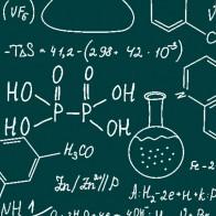 Chemistry Equations - Green Necktie