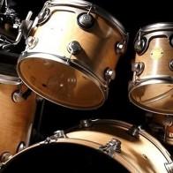 Golden Drums Necktie