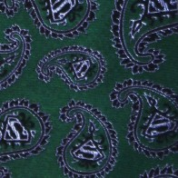 Superman Green Paisley