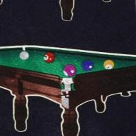 Billiard Tables Navy Necktie