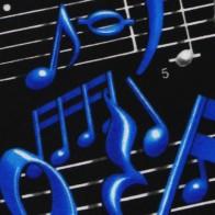 Musical Notes Necktie