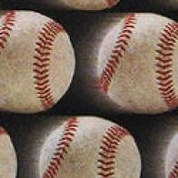 Just Balls Baseball Fastball Necktie