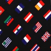 World Flag Diagonal Extra Long
