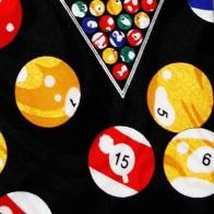 Billiard Balls Allover Necktie