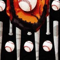 Baseball Vertical Necktie