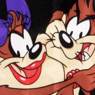 Looney Tunes Taz in Love Tie