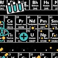 Periodic Table and Icons - Black Necktie
