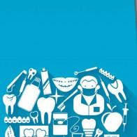 Tooth Symbol - Blue Necktie