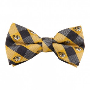 Missouri Tigers Check Bow Tie