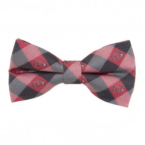 Arkansas Razorbacks Check Bow Tie