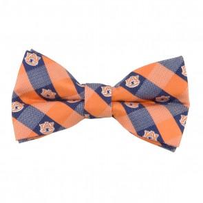 Auburn Tigers Check Bow Tie