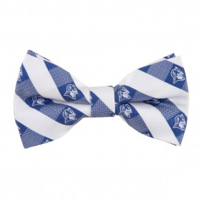 Duke Blue Devils Check Bow Tie