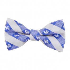 Kentucky Wildcats Check Bow Tie