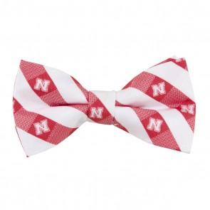 Nebraska Cornhuskers Check Bow Tie