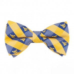 West Virginia Mountaineers Check Bow Tie