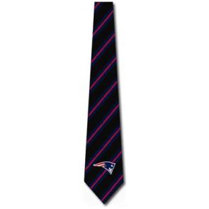 NFL New England Patriots Woven Stripe Necktie