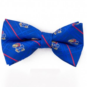 Kansas Jayhawks Oxford Bow Tie