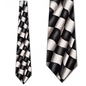 Checkered Flag Necktie