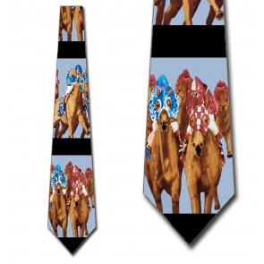 Off to the Races Necktie