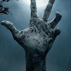 Graveyard Zombie Hand Necktie