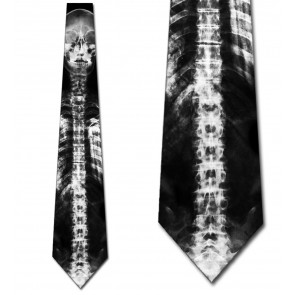 X-Ray Skeleton Necktie