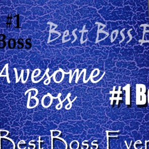 Number One Boss - Royal
