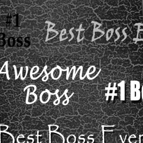 Number One Boss - Black