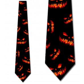 Evil Jack-o-Lanterns Necktie
